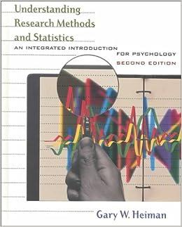 amazoncom understanding research methods and statistics