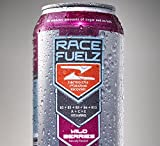 RaceFuelZ - Wild Berries Naturally Flavored & Sweetened Superior Hydration Drink 16oz 12pack - No Caffeine and 2 Grams of Sugar per single can (Wild Berries)