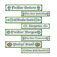 Oktoberfest Sign Cutouts (84 Pack) from DDI