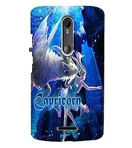 PRINTVISA Zodiac Capricorn Case Cover for Motorola Moto X 3rd Gen