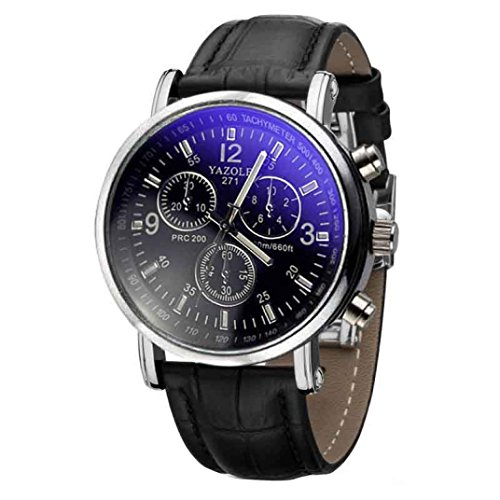 familizo-mens-luxury-faux-leather-blue-ray-glass-quartz-analog-watches-black