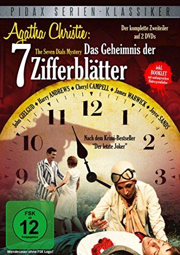 Agatha Christie: Das Geheimnis der 7 Zifferblätter (The Seven Dials Mystery) - Der packende Krimi-Zweiteiler nach dem Roman Der letzte Joker (Pidax Serien-Klassiker) [2 DVDs]