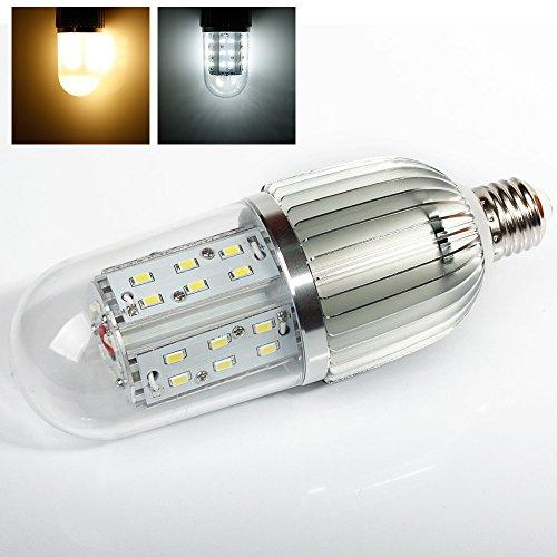 Lvjing® Energy Saving E27 Base 18W 6000K Led Household Corn Light Bulb For Home Hotel Office Market Lighting & Decoration (Day White, 18W Transparent)