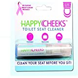 One (1) Happy Cheeks Toilet Seat Cleaner Spray - No More Fear for your Rear