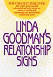 Linda Goodman's Relationship Signs (0553110462) by Goodman, Linda