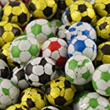 Foiled Chocolate Footballs - 200g pack