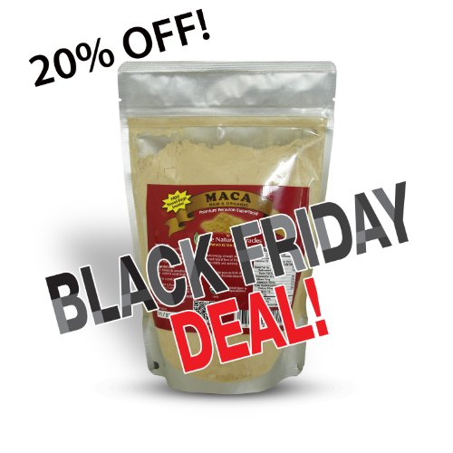 BLACK FRIDAY DEAL! Maca Powder - Raw Organic Vegan - Premium Peruvian Root - 16 oz/1 lb - Benefits: Energy, Vitality, Sexual Stamina, Libido, Fertility, Reproductive health, Hormonal Balance - Superfood, Dietary Supplement for Men and Women.