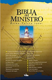 2760I Biblia del Ministro Negro Imitaci&oacuten &Iacutendice Zondervan