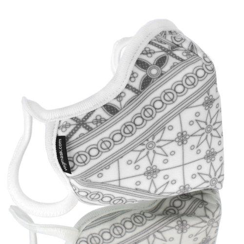 VOGMASK Organic Cotton Filtering Mask: Batik