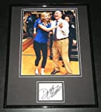 Dick Vitale Signed Framed 11x14 Photo Display JSA w/ Erin Andrews ESPN