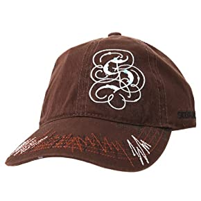 Mens Scotland Embroidered Diamante Design Baseball Cap