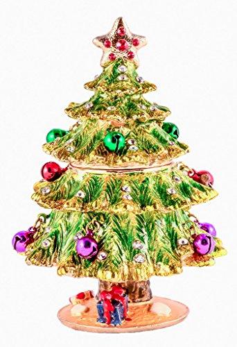 Christmas Tree Trinket Box