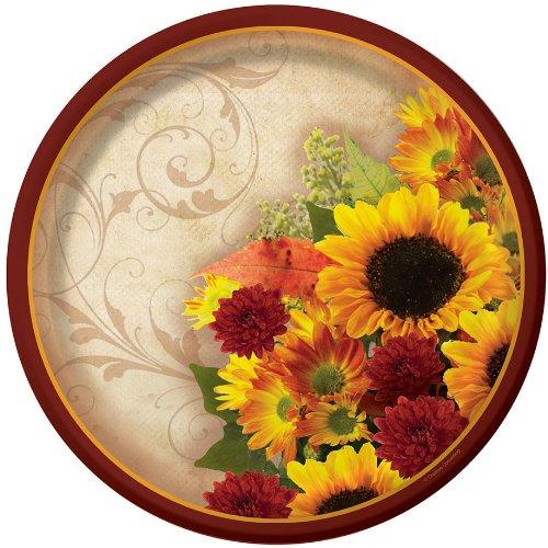 Floral Inspiration Dessert Plates