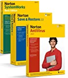 Norton Antivirus 2007 incl maj 2008 Norton SystemWorks Basic Edition Norton Save Restore 20