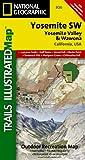 National Geographic Maps Yosemite SW, Yosemite Valley & Wawona Trails Illustrated National Parks (Ti - National Parks)