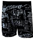 Beer Phrases Black Boxers for men