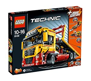 LEGO Technic 8109: Flatbed Truck Toy