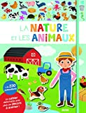 La nature et les animaux : Cahier + autocollants