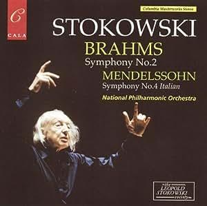 Brahms: Symphony No 2; Mendelssohn: Symphony No 4