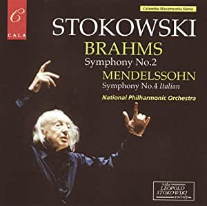 "Brahms: Symphony No. 2; Mendelssohn: Symphony No. (""Italian"")"