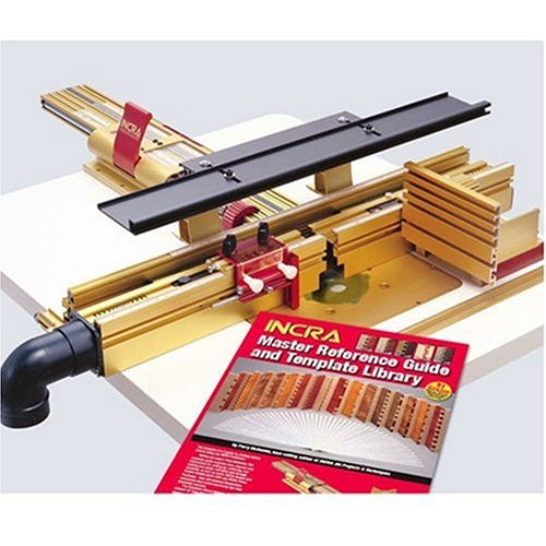 Incra LS25WFNCSYS 25-inch Range Positioner with Split Router Table Fence Super System
