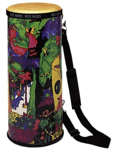 Remo Kid'S Percussion, Konga, 6 Diameter, 15 Height, Rain Forest Fabric