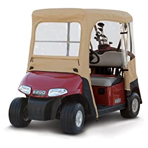Classic Accessories Fairway Deluxe 4-Sided 2-Person Golf Cart Enclosure For E-Z-Go,... by Classic Accessories