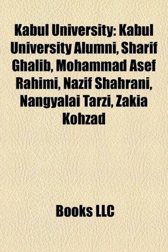 kabul university pictures. Kabul University: Kabul