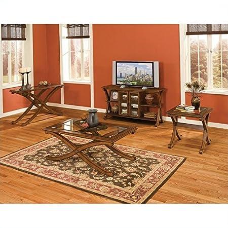 Standard Furniture Madrid 3 Piece Coffee Table Set