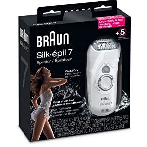 Braun Silk-Epil 7681 Wet & Dry Epilator