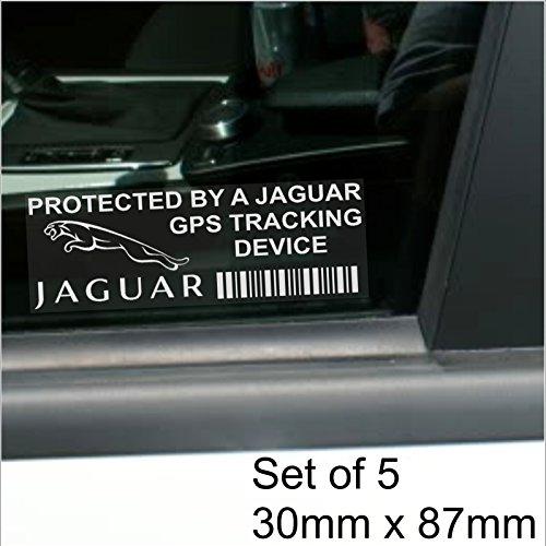 5-adesivi-per-finestrino-87-x-30-mm-jaguar-gps-tracking-device-security-auto-furgone-f-typexj12xj6xj