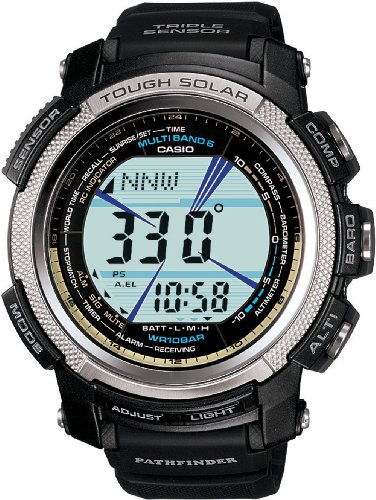 Casio Men's PAW2000-1CR Pathfinder Digital Multi-Function