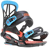 Union Flite Pro Snowboard Bindings, Black/Blue - Medium/Large