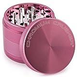 Chromium Crusher 2 Inch 4 Piece Tobacco Spice Herb Grinder - Pink