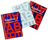 echange, troc  - Algebra 1: Homeschool Kit With Solutions Manual