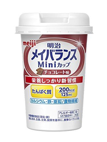 メイバランスミニカップチョコ 125ml×12