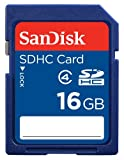 SanDisk Flash 16 GB SDHC Flash Memory Card SDSDB-016G