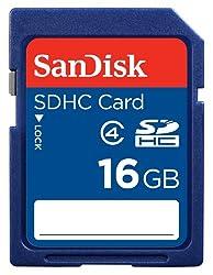 Sandisk SDSDB-016G-B35 16GB Class 4 SDHC Memory Card