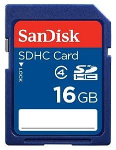 SanDisk Flash 16 GB SDHC Flash Memory Card SDSDB-016G