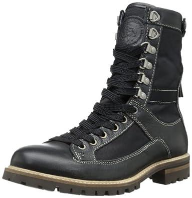 Amazon com diesel men s the dune jbd combat boot shoes