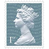 100 x 1st Class Stamps - Postage Stamp Sheet / Strip