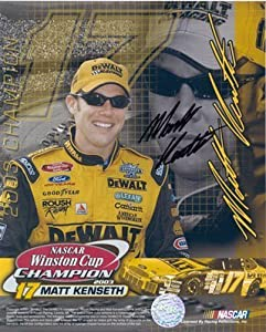 Matt Kenseth Signed Autographed Collage 8x10 Photo by Memorabilia