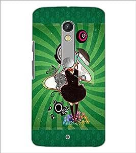 PrintDhaba Cartoon D-4089 Back Case Cover for MOTOROLA MOTO X PLAY (Multi-Coloured)