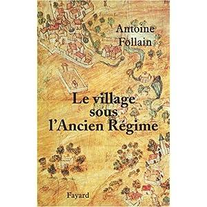 Le village sous l'ancien régime (Antoine Follain) 51ZA364hBRL._SL500_AA300_
