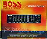 BOSS AVA1215 Mini 5 Band Pre-amp Equalizer with Subwoofer Output
