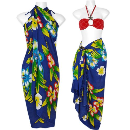 by 1 world sarongs in blue