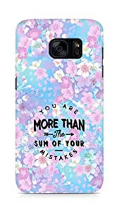 AMEZ you are more than the sum of your mistakes Back Cover For Samsung Galaxy S7
