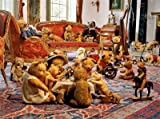 KING 1000 PIECE JIGSAW BEARS TEA PARTY