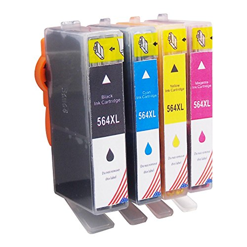 15 PK 564XL Ink for HP B8558 C5300 6510 6520 5510 7515 7520 7510 7525