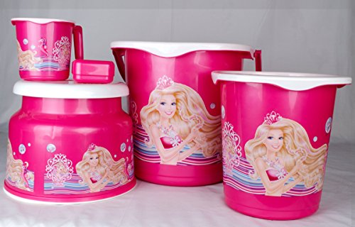 Cello Barbie Bucket Set